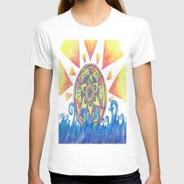 Mandala Sunrise T-shirt