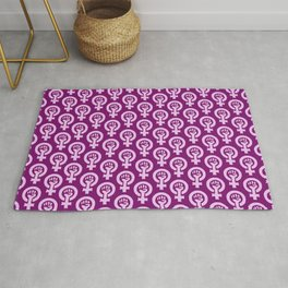 Feminism and Women's Rights, Equality and Diversity Rug