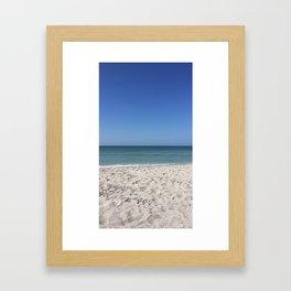 Yolo Beach Framed Art Print