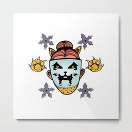 Ninja Dani Metal Print