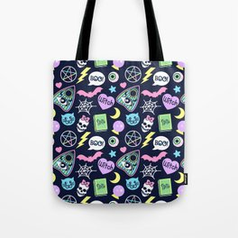 Spooky Babe Tote Bag