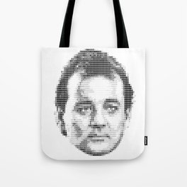 Bill Murray Groundhog Day Meta Portrait  Tote Bag