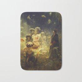 Sadko by Ilya Repin, 1876 Bath Mat