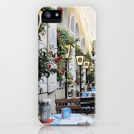 The Cafe iPhone Case