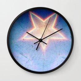 Denim Wall Clock