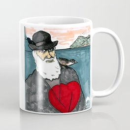 A Darwinian Heart Coffee Mug