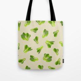 Lettuce Bok Choy Vegetable Tote Bag