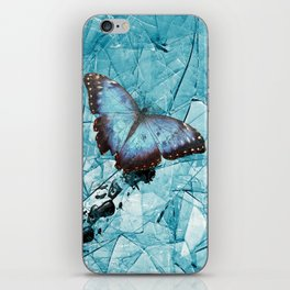 Fractured Butterfly iPhone Skin