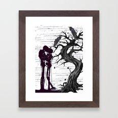 Horror Distortion Framed Art Print