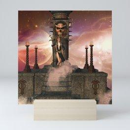 The  Totem place Mini Art Print