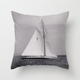 Spartan in Penobscot Bay Throw Pillow