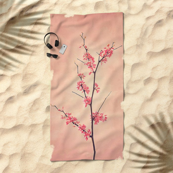 The Passion of Pink Beach Towel