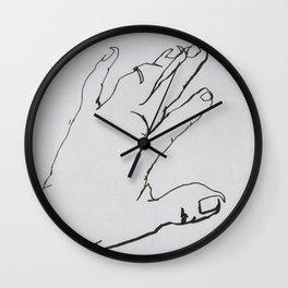 Hand I Wall Clock