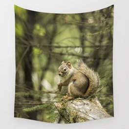 Who You Calling Squirrelly? Wall Tapestry