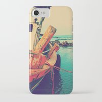 boat iPhone & iPod Cases featuring Boat by AJAN