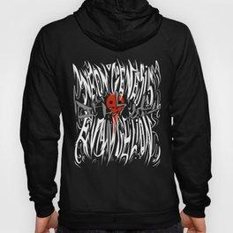 NGE Metal Logo  Hoody