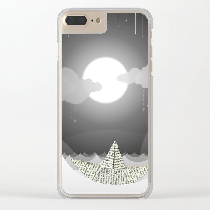 Dream Sea Clear iPhone Case