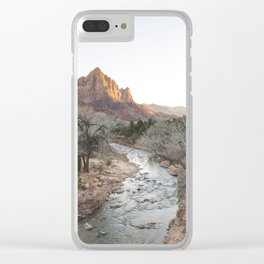 Canyon Junction, Zion National Park, Utah Clear iPhone Case