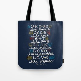 FRIENDS TV Characters Tote Bag