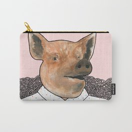 Charlie the Pig Carry-All Pouch