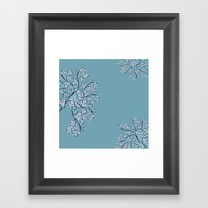 Up in the Trees Framed Art Print