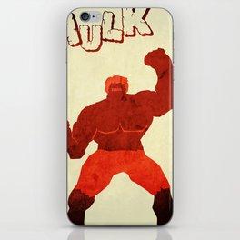 The Avengers Hulk iPhone Skin