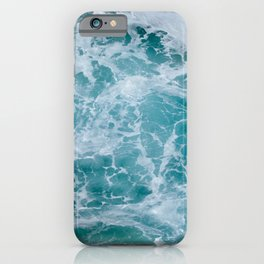 Aerial Photography Surf Sea Foam Wave iPhone Case