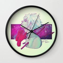 Kind Moon Wall Clock