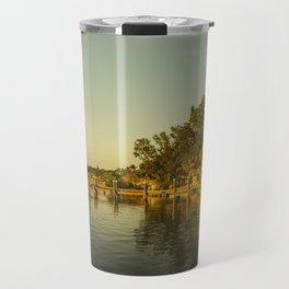 Key Largo Gold Travel Mug