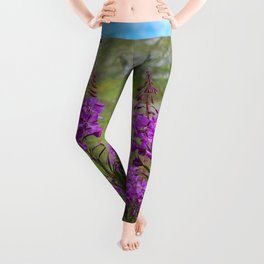 Hatcher_Pass Fireweed - Alaska Leggings