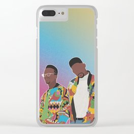 DJ JAZZY JEFF & THE FRESH PRINCE Clear iPhone Case