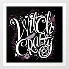 Witch Crafty Art Print