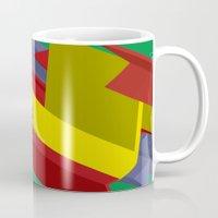 3d Mugs featuring 3D by John VanHouten