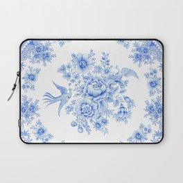 Blue asiatic pheasant Laptop Sleeve
