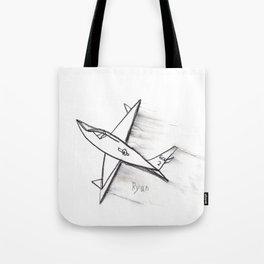 Speedy Airplane Tote Bag