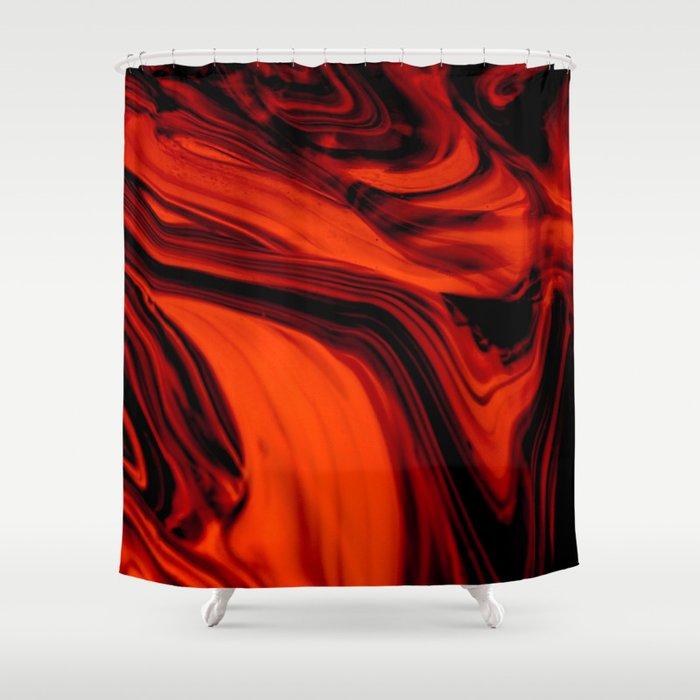 Solar Smoke Shower Curtain