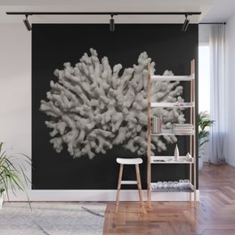 White dried coral branch Wall Mural