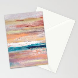Rock Study in Pinks Stationery Cards