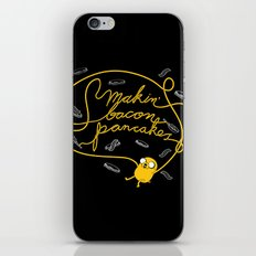 Jake Makin' Bacon Pancakes iPhone & iPod Skin
