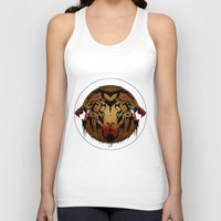 wildlife Tank Tops featuring wildlife unleashed by Christophe Chiozzi