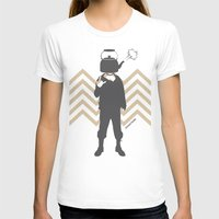 steam punk T-shirts featuring Steam Punk by Jade Deluxe