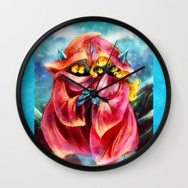 Orko and Dree Elle Wall Clock
