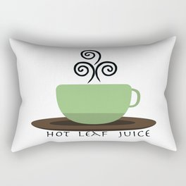 Hot Leaf Juice Rectangular Pillow
