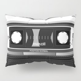 Compact cassette | 90's | 90's music | Cassette tape | Punk Pillow Sham