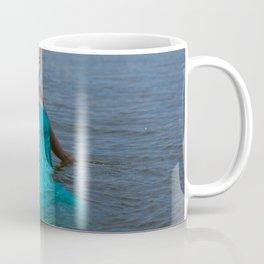 girl on the river Coffee Mug