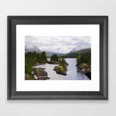 The wilderness Framed Art Print