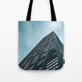 Hancock skyscraper// CHICAGO Tote Bag