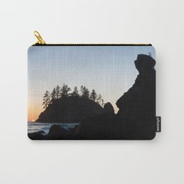 Grandmother Rock At Sunset Carry-All Pouch