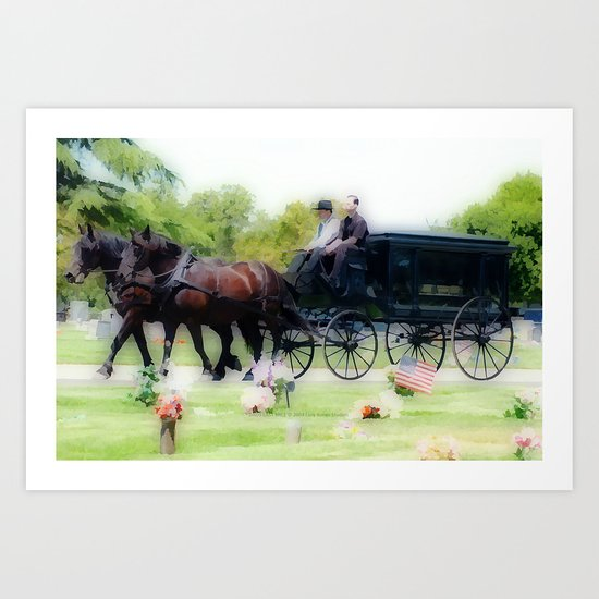 Dads Last Mile Art Print