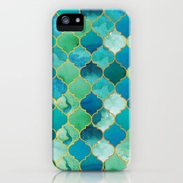 moroccan mermaid magnificence iPhone Case
